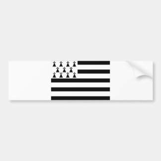 brittany Bretagne france region flag Bumper Sticker