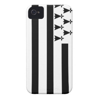 brittany Bretagne france region flag iPhone 4 Cover