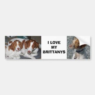 Brittany Bumper Sticker Car Bumper Sticker