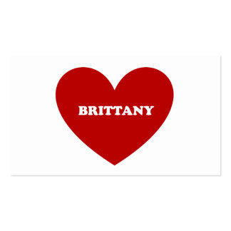 Brittany Business Card Template
