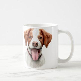 Brittany Bust Coffee Mug