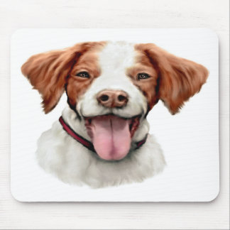 Brittany Bust Mousepad