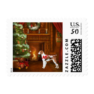 Brittany Christmas Holiday Postage Stamps
