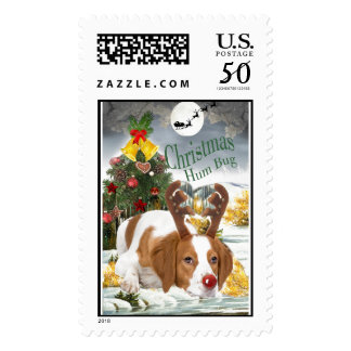 Brittany Christmas Postage Stamps