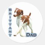 Brittany Dad 4 - Sticker