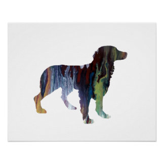 Brittany Dog Art Poster