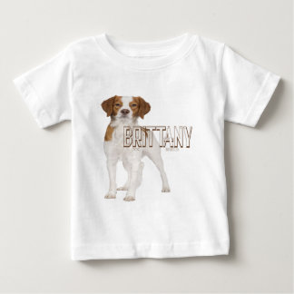 Brittany dog breeds  ブルターニュ犬の品種 baby T-Shirt