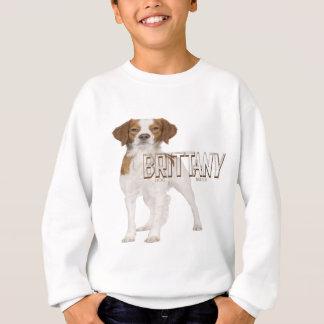 Brittany dog breeds  ブルターニュ犬の品種 sweatshirt