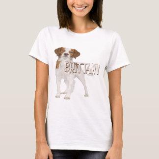 Brittany dog breeds  ブルターニュ犬の品種 T-Shirt