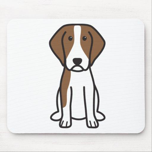 Brittany Dog Cartoon Mousepad