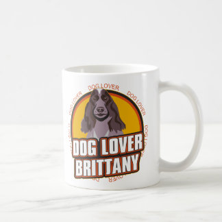 Brittany Dog Lover Coffee Mug