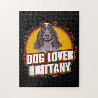 Brittany Dog Lover Jigsaw Puzzles