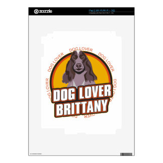 Brittany Dog Lover Skin For The iPad 2