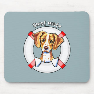 Brittany First Mate Mouse Pad