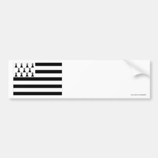 Brittany Flag Bumper Sticker