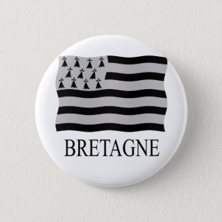 Brittany flag button