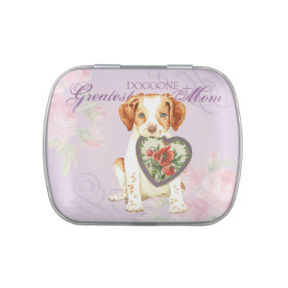 Brittany Heart Mom Candy Tins