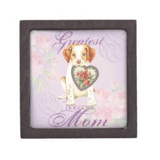 Brittany Heart Mom Jewelry Box