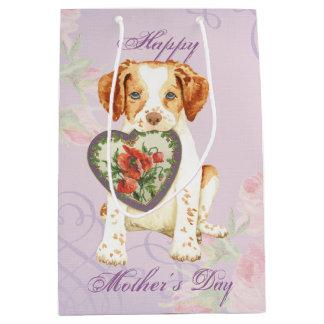 Brittany Heart Mom Medium Gift Bag