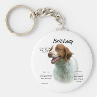 Brittany History Design Keychains