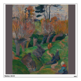 Brittany Landscape with Cows Paul Gauguin Wall Decal
