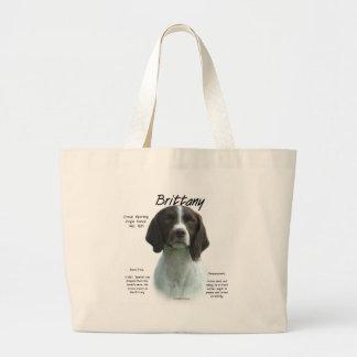 Brittany liver History Design Tote Bag