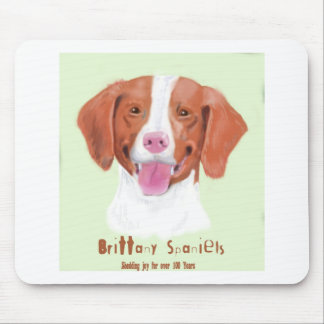 brittany mouse pad