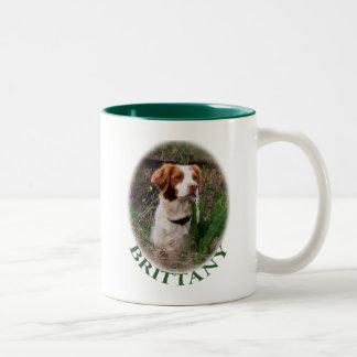 Brittany Two-Tone Coffee Mug