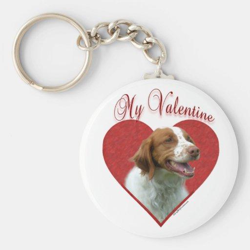 Brittany My Valentine - Keychain