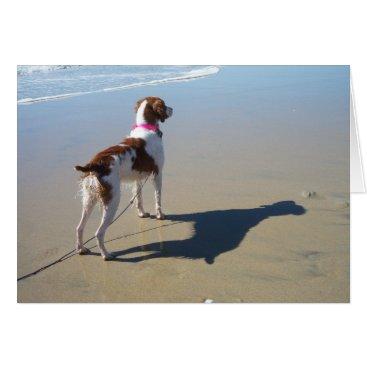 Beach Themed BRITTANY ON THE BEACH CARD