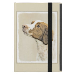 Powis iCase iPad Mini Case with Kickstand with Brittany Spaniel Phone Cases design