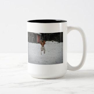 Brittany Puppy Joy Mug