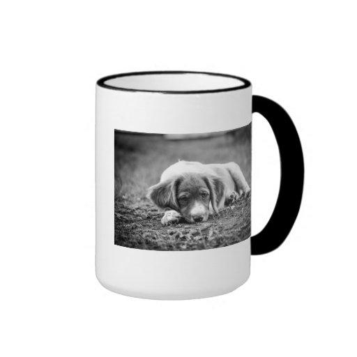 Brittany Puppy Coffee Mug
