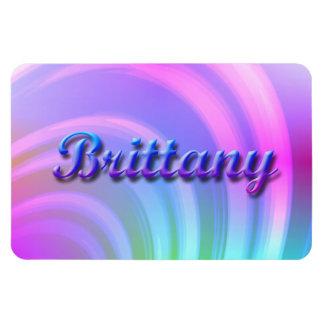 Brittany_Rainbow Premium Flexi Magnet