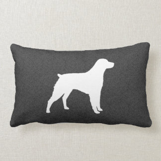 Brittany Silhouette Lumbar Pillow