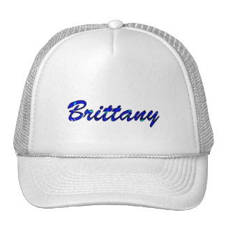 Brittany Solid White Style Trucker Hat