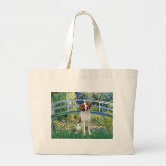 Brittany Spaniel 3 - Bridge Tote Bag