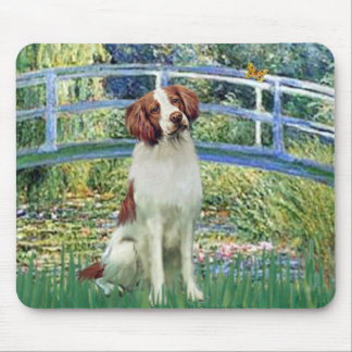 Brittany Spaniel 3 - Bridge Mouse Pad