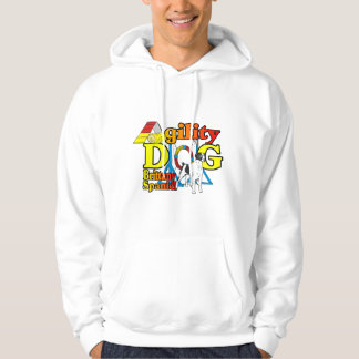 Brittany Spaniel Agility Gifts Hoodie