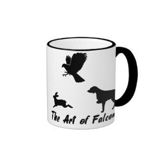 Brittany Spaniel and Falconry Coffee Mug