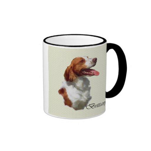 Brittany Spaniel Art Gifts Coffee Mug
