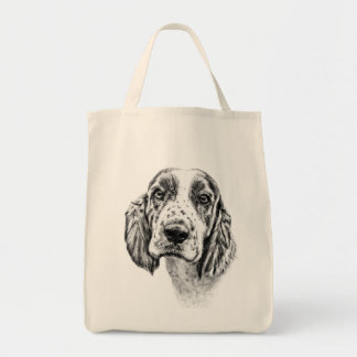Brittany Spaniel Tote Bags