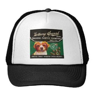 Brittany Spaniel Brand – Organic Coffee Company Trucker Hat