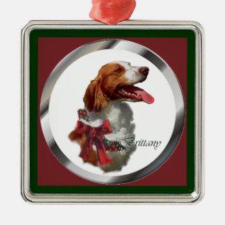 Brittany Spaniel Christmas Gifts Ornament
