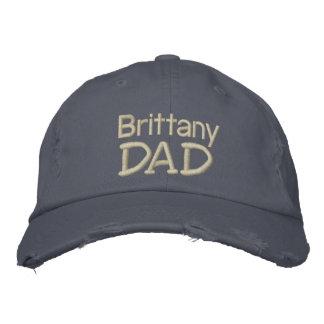 Brittany Spaniel Dad Gifts Baseball Cap