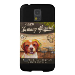 Case-Mate Barely There Samsung Galaxy S5 Case with Brittany Spaniel Phone Cases design