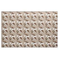 Brittany Spaniel  dog breed fabric