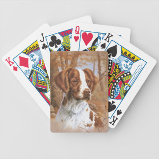 Brittany Spaniel Dog Playing Cards