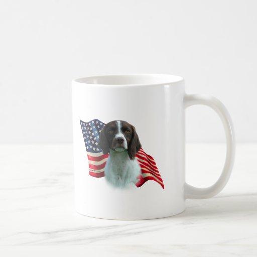 Brittany Spaniel Flag Mug