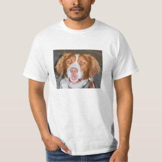 BRITTANY SPANIEL, good boy, sire, charming T-Shirt